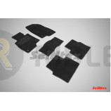 Ворсовые коврики LUX для Mazda 3 2013-2019