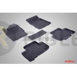 Резиновые коврики с высоким бортом для Ssang Yong Rexton III 2012 по наст. вр.
