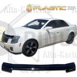 Дефлектор СА Пластик для капота (Classic черный) Cadillac CTS 2003-2007. Артикул 2010010112400