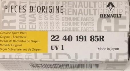 Свеча зажигания оригинальная для Renault Arkana (Рено Аркана) V-1.3
