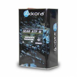 Akkora GEAR ATF III 4л