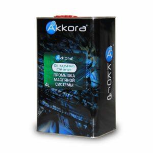 Akkora Oil System Cleaner (очиститель масляной системы) 4л