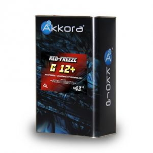 Akkora Red Freeze G12+ 4л