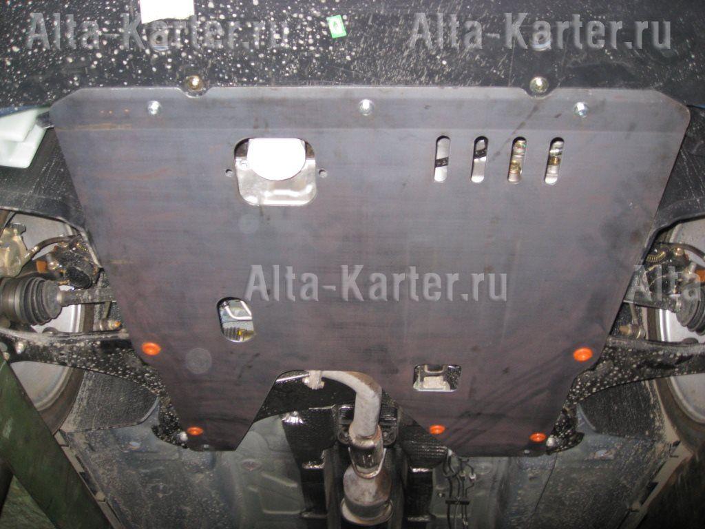 Защита Alfeco для картера и КПП Chery M11 2010-2015. Артикул ALF.02.09