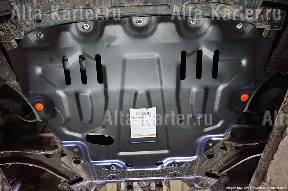 Защита Alfeco для картера и КПП Lada Vesta седан, SW, SW Cross 2015-2021. Артикул ALF.28.20st