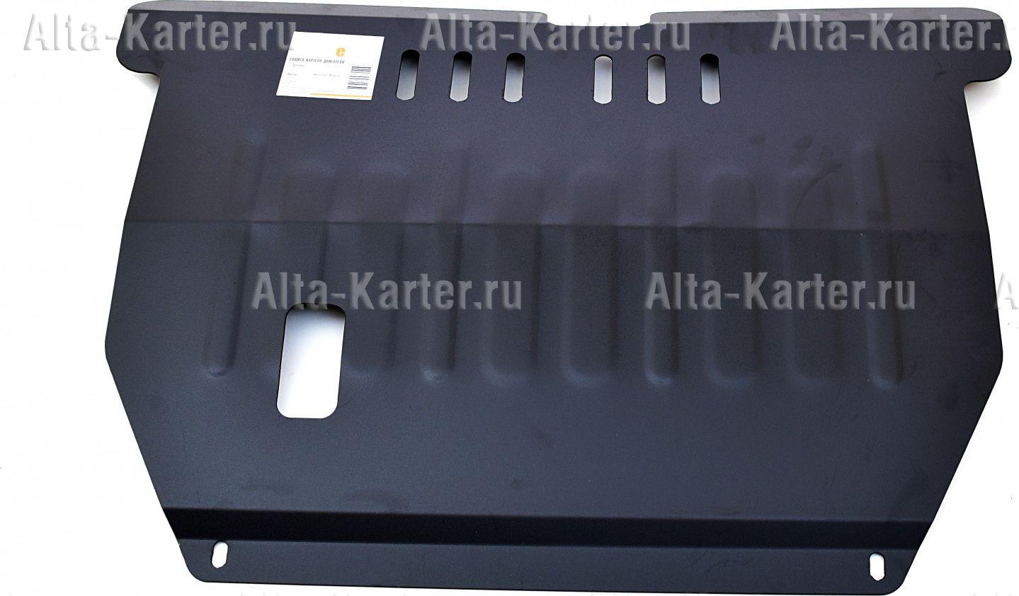 Защита Alfeco для картера и КПП Hyundai Matrix 2001-2010. Артикул ALF.10.06