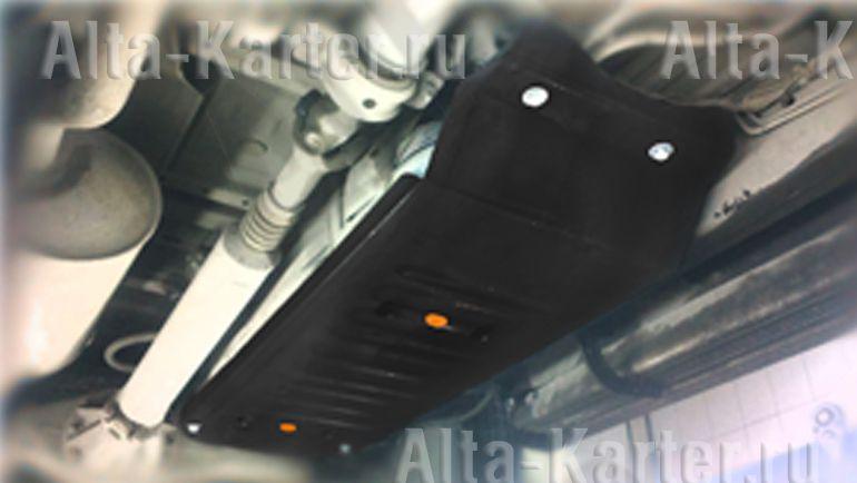 Защита Alfeco для топливного бака Toyota Hilux VII рестайлинг 2011-2015. Артикул ALF.24.89
