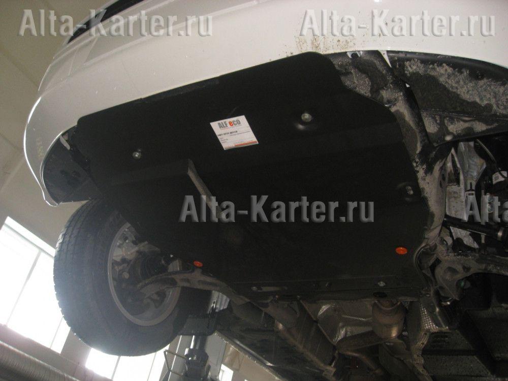 Защита Alfeco для картера и КПП (на пыльник) Volkswagen Multivan T6 2015-2021. Артикул ALF.26.34