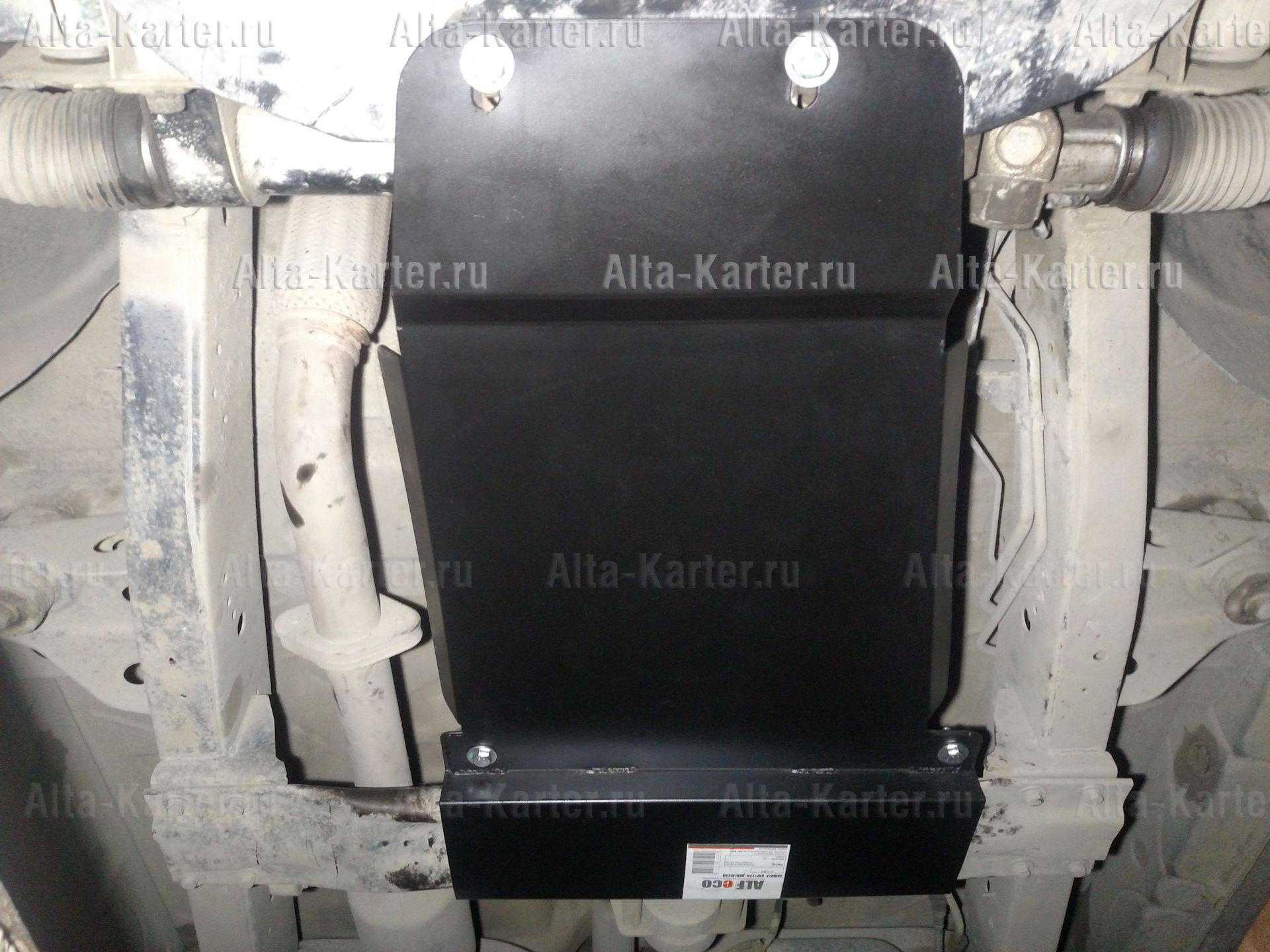 Защита Alfeco для КПП SsangYong Actyon I 2005-2011. Артикул ALF.21.02
