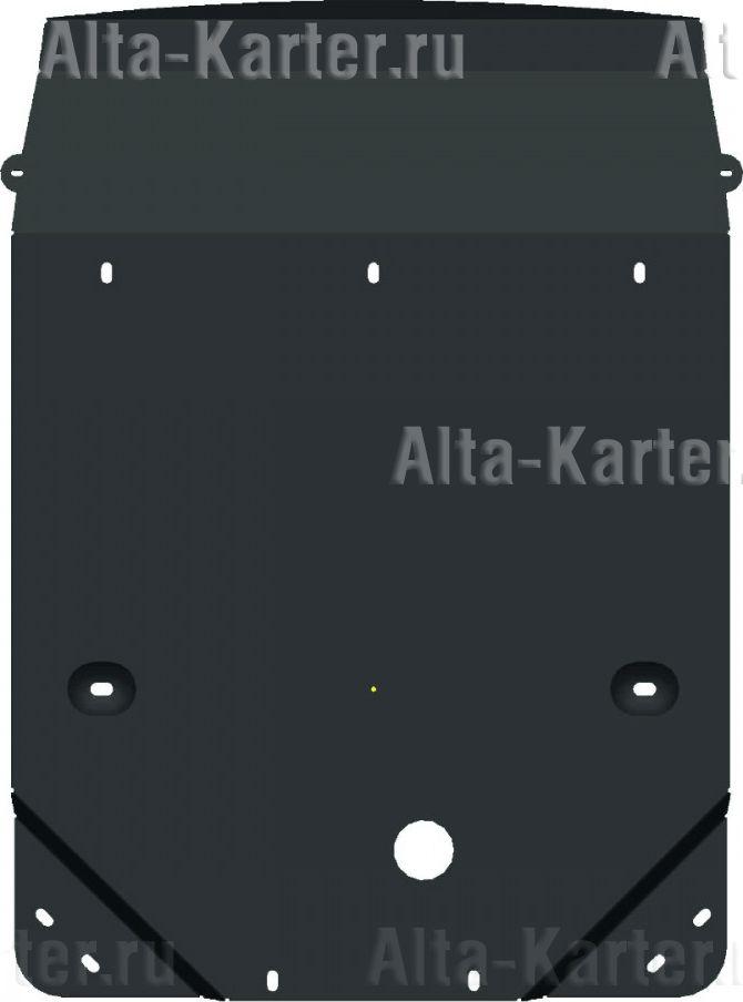 Защита Alfeco для картера и радиатора BMW 1-серия F20, F21 2011-2021. Артикул ALF.34.18