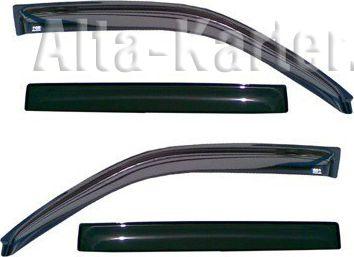Дефлекторы Cobra Tuning для окон BMW 7 G11 седан 2015 по наст. вр.. Артикул B24415