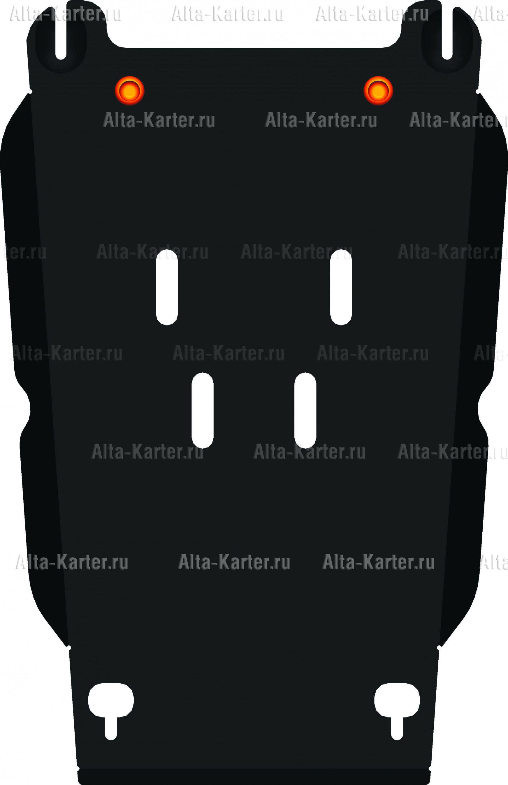 Защита Alfeco для КПП Chevrolet TrailBlazer II 2013-2021. Артикул ALF.03.20
