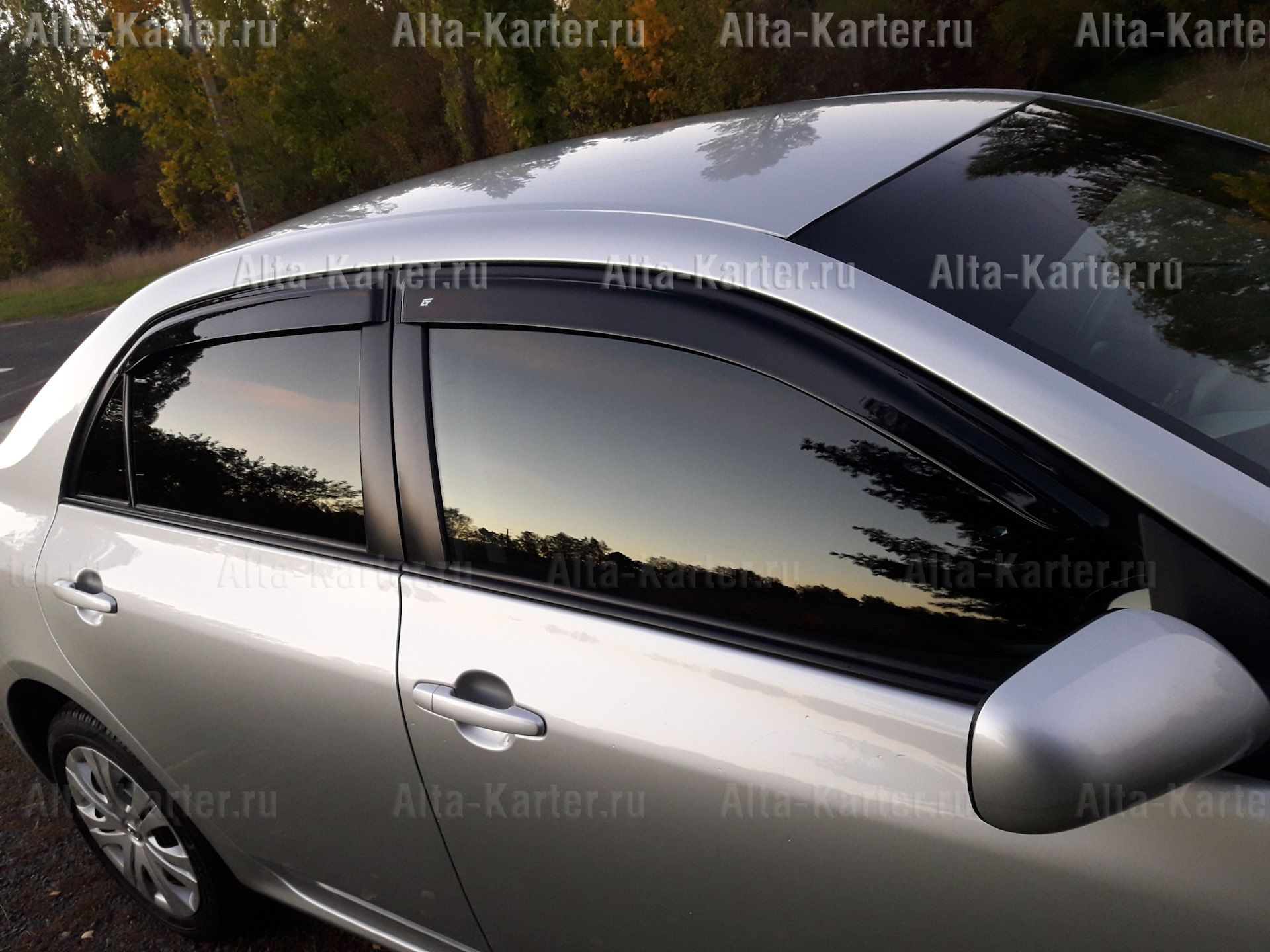 Дефлекторы Cobra Tuning EuroStandart для окон Opel Astra G универсал 1998-2004. Артикул OE11698