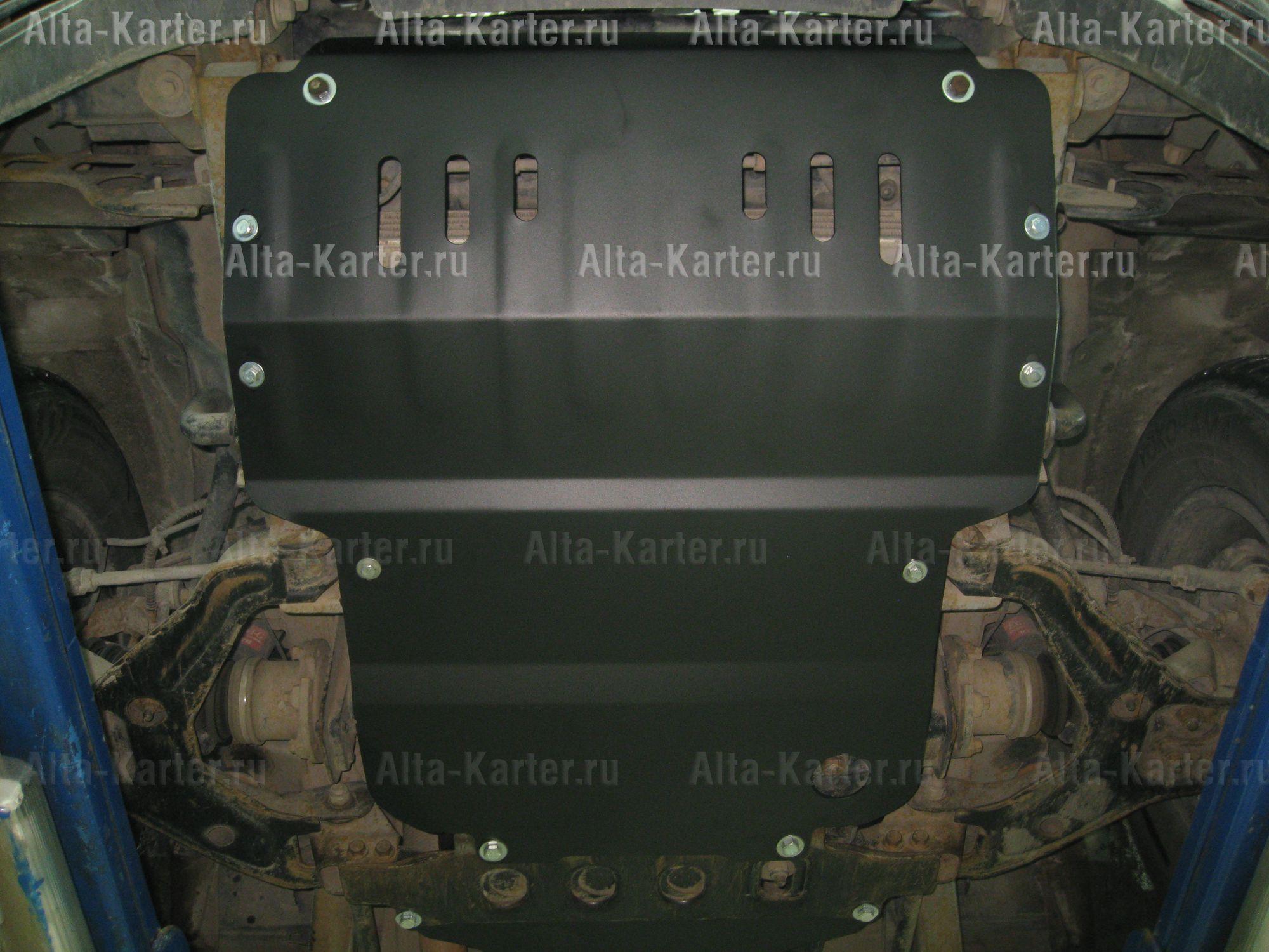 Защита Alfeco для картера ТагАЗ Tager 2008-2011. Артикул ALF.32.01