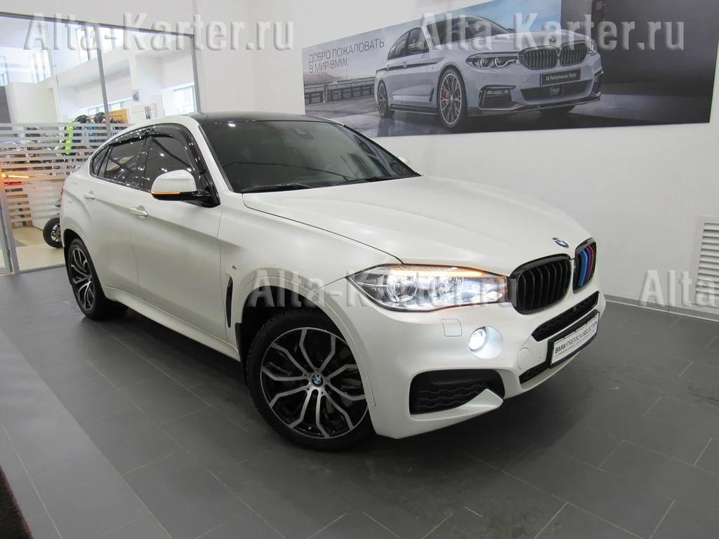Дефлекторы Cobra Tuning для окон BMW X6 F16 2014 по наст. вр.. Артикул B24014