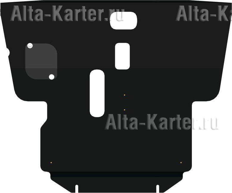 Защита Alfeco для картера и КПП Toyota Avensis 2002-2008. Артикул ALF.24.18
