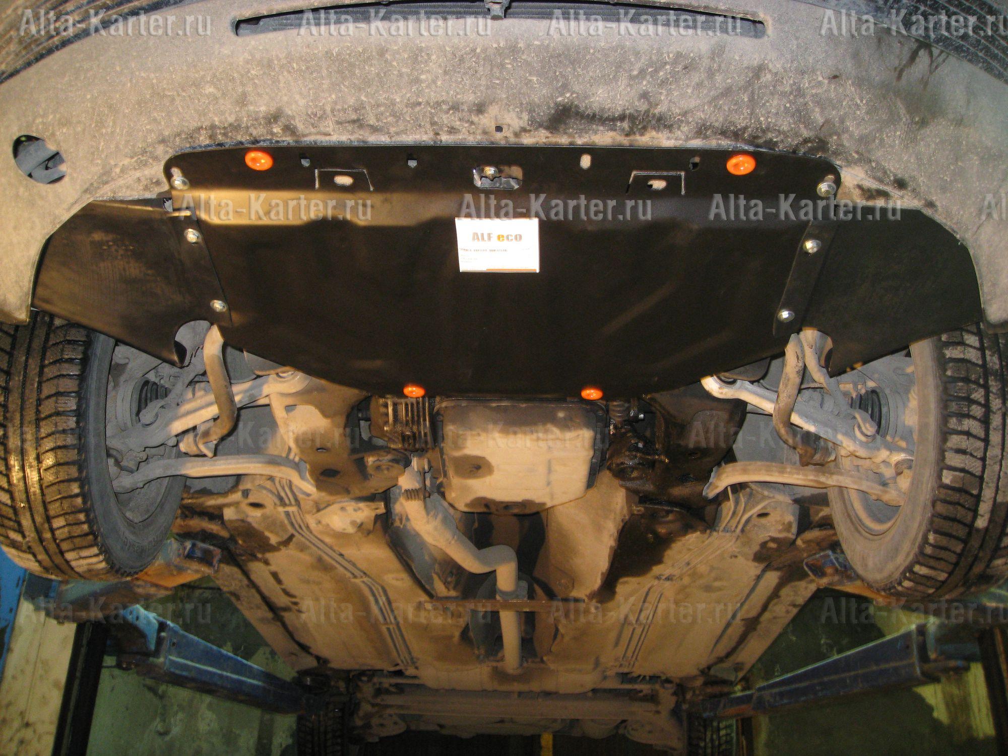 Защита Alfeco для картера Audi A4 B5, B6 1994-2006. Артикул ALF.26.08 st