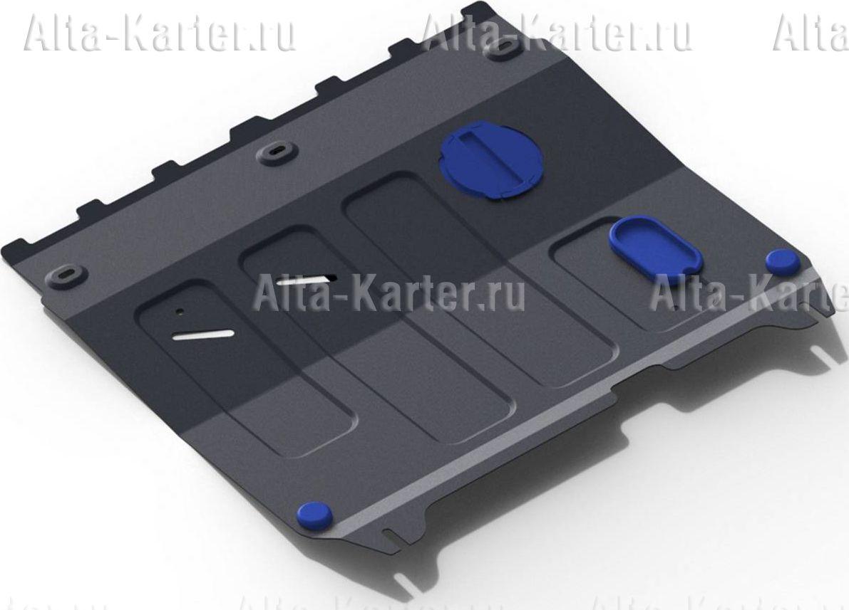 Защита Rival для картера и КПП Chevrolet Spark III АКПП 2010-2016. Артикул 111.1018.1