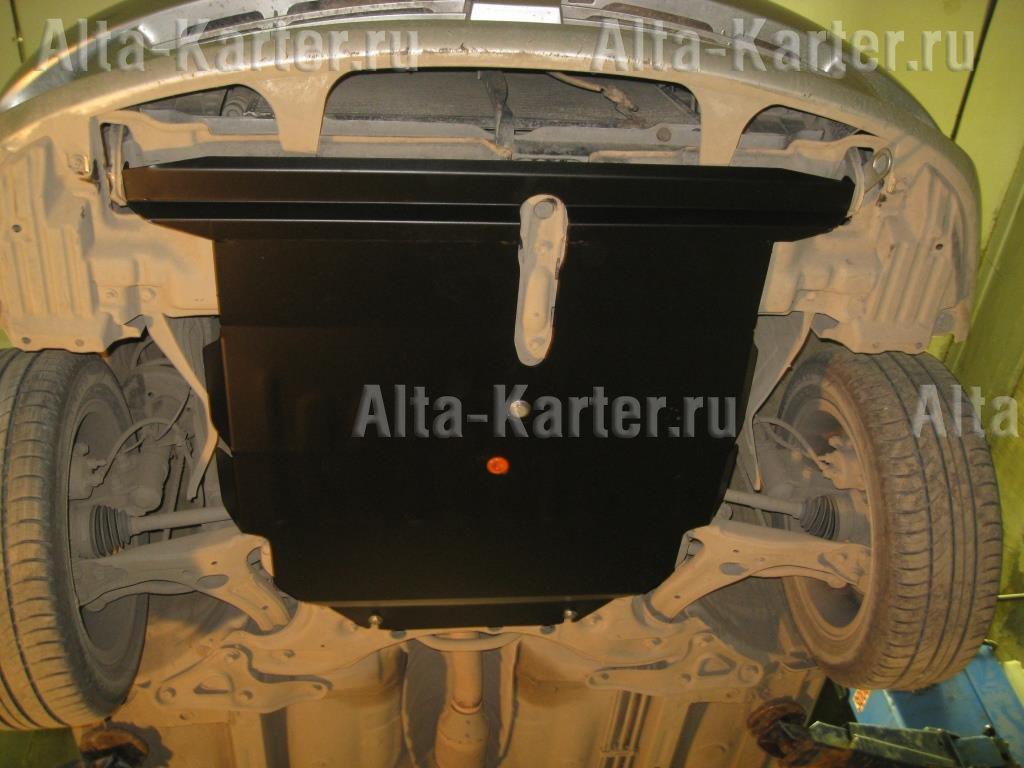 Защита Alfeco для картера и АКПП Toyota Premio T260 2007-2021. Артикул ALF.24.67