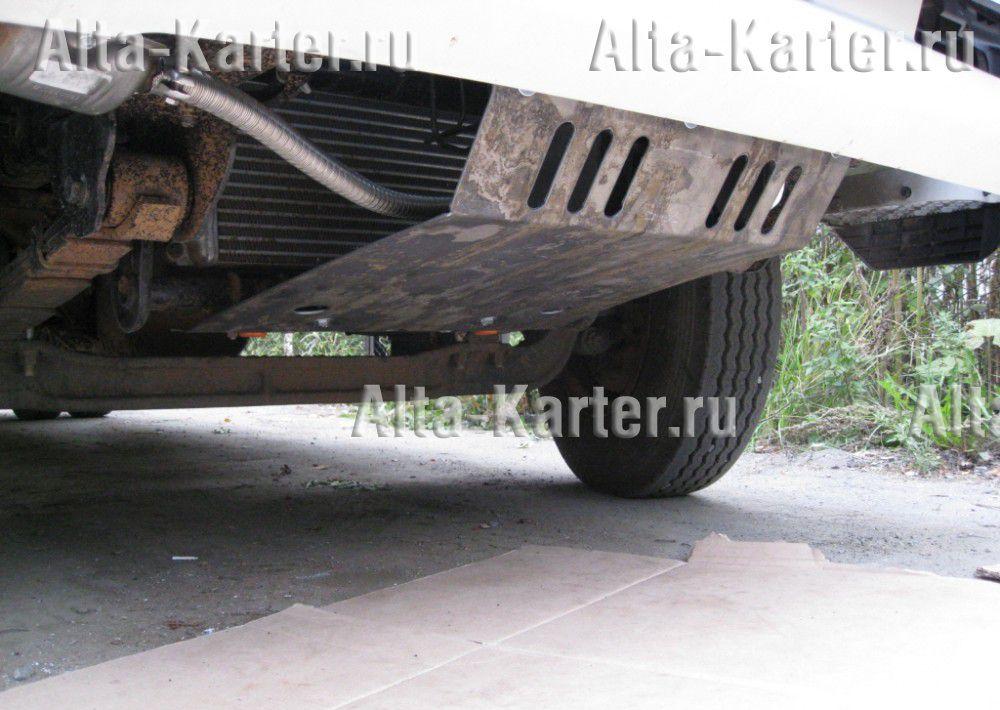 Защита Alfeco для радиатора Hyundai HD 78 1998-2021. Артикул ALF.10.19