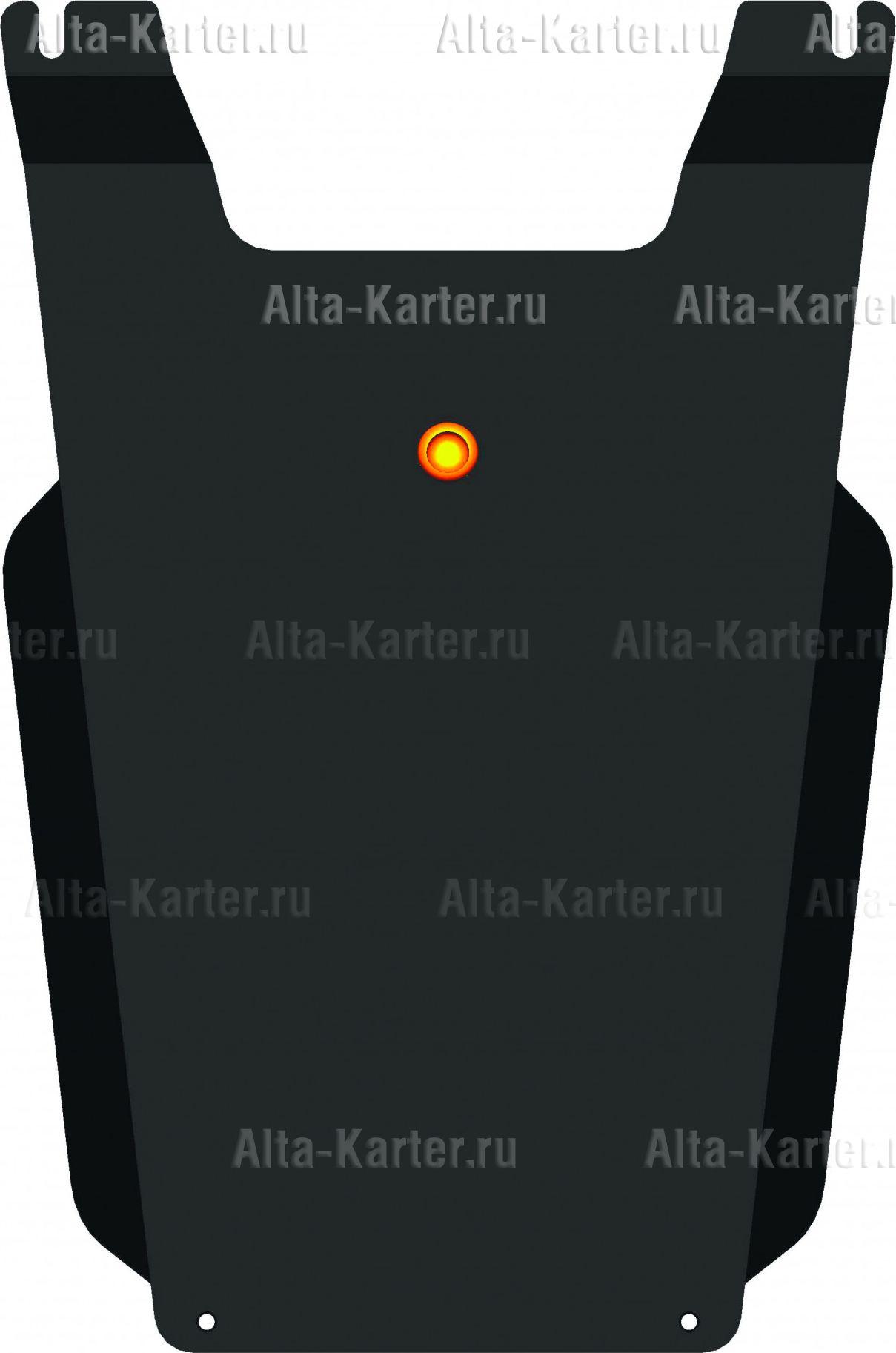 Защита Alfeco для КПП Chrysler 300C I 2005-2007. Артикул ALF.33.04