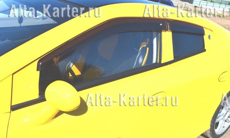 Дефлекторы Cobra Tuning Eurostandart для окон ТагАЗ Aquila 2013 по наст. вр.. Артикул TE10413