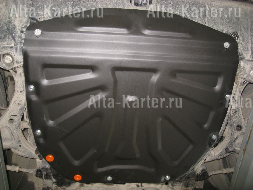 Защита Alfeco для картера и КПП Kia Sorento II 2009-2012. Артикул ALF.11.18 st