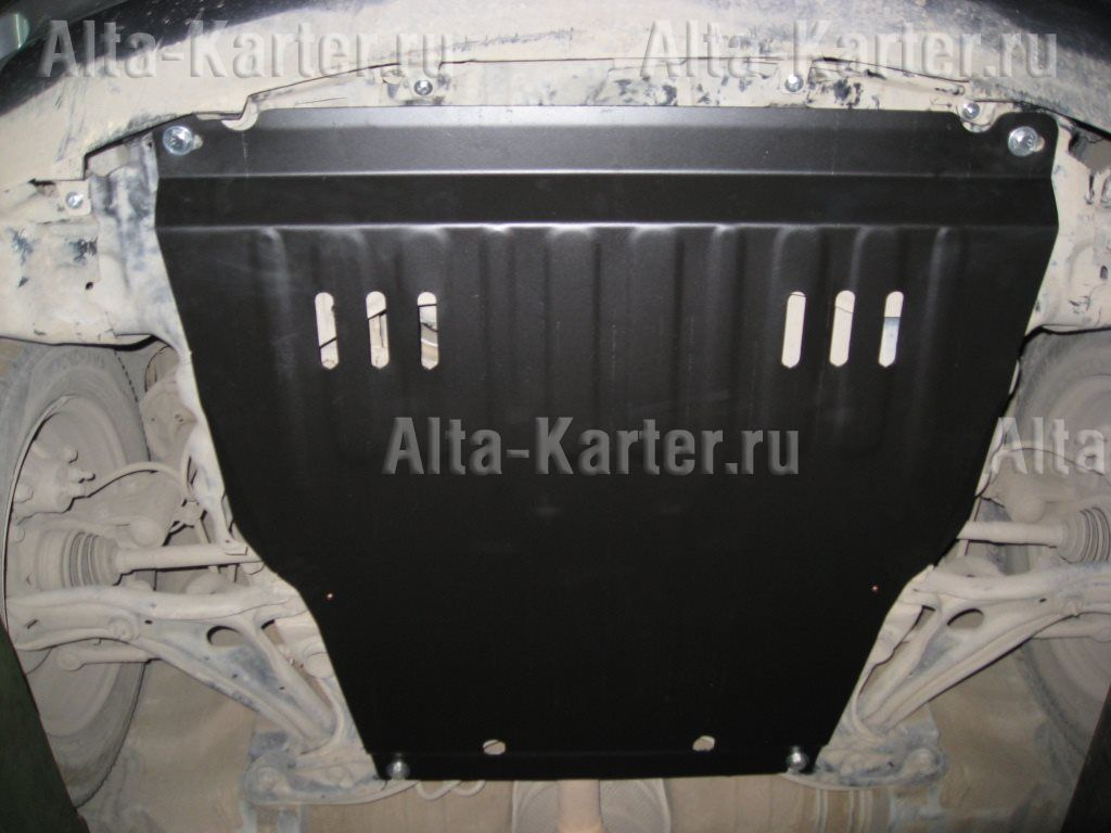 Защита Alfeco для картера и КПП Toyota FunCargo 2000-2004. Артикул ALF.24.50