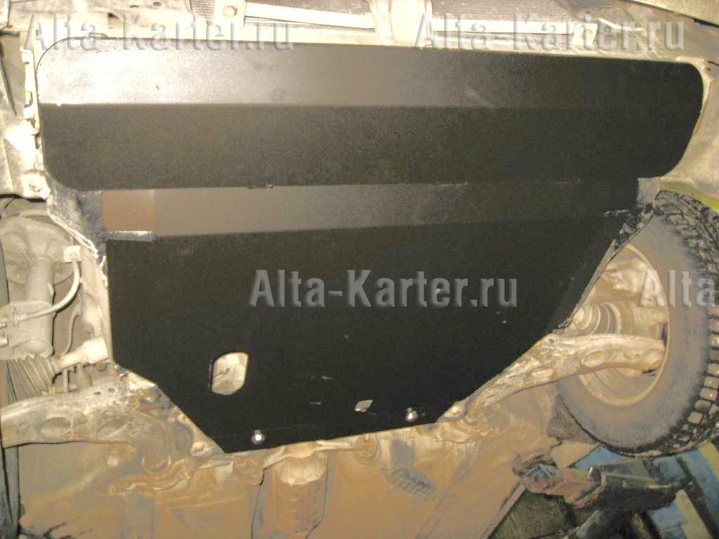 Защита Alfeco для картера и КПП Mazda 626 GF 1997-2002. Артикул ALF.13.15