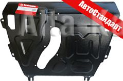 Защита 'АвтоСтандарт' для картера, КПП Toyota RAV4 2013-2019. Артикул 52503