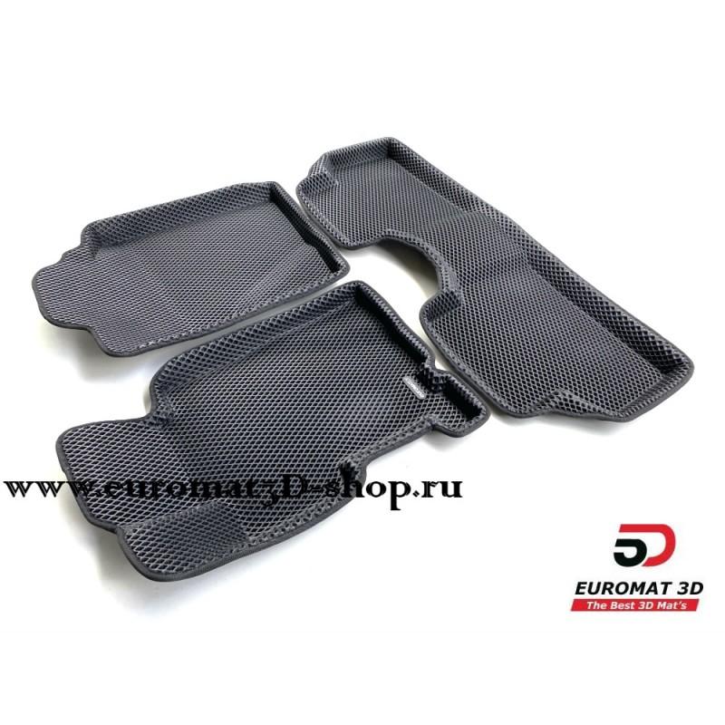 3D Коврики Euromat3D EVA В Салон Для HONDA Civic 4D (2006-2012) № EM3DEVA-002602