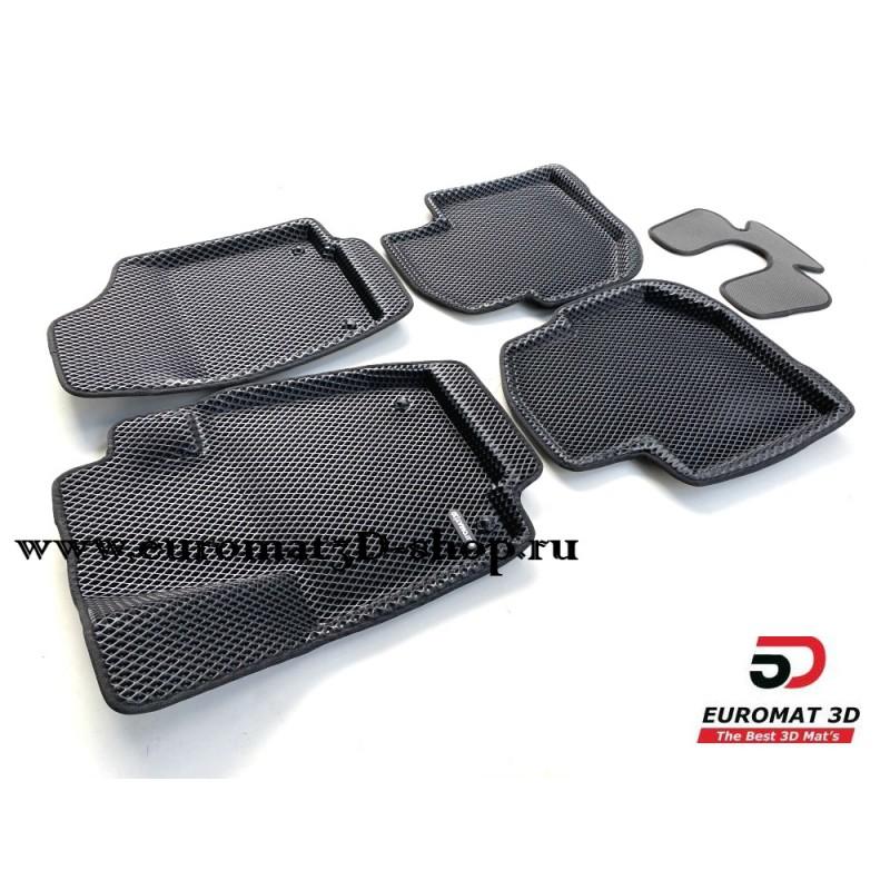 3D Коврики Euromat3D EVA В Салон Для SKODA Rapid (2020-) № EM3DEVA-004508.1