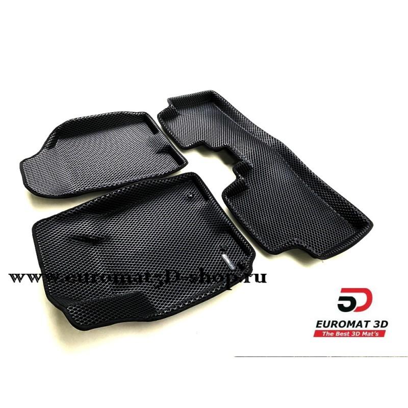 3D Коврики Euromat3D EVA В Салон Для KIA Sportage (2005-2010) № EM3DEVA-002720