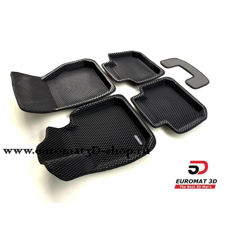 3D Коврики Euromat3D EVA В Салон Для BMW X2 (F39) (2018-) № EM3DEVA-001220