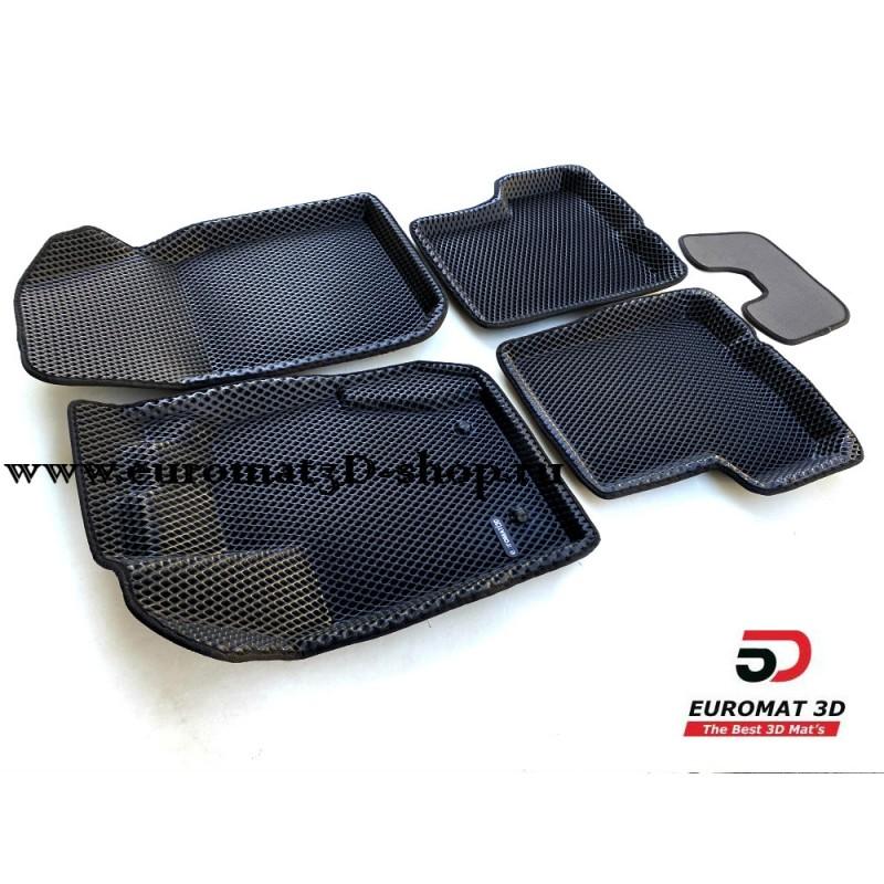 3D Коврики Euromat3D EVA В Салон Для Nissan Terrano (2011-2015) № EM3DEVA-004200