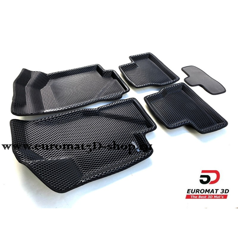 3D Коврики Euromat3D EVA В Салон Для DATSUN on-Do (2014-2020) № EM3DEVA-005310