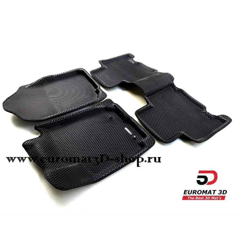 3D Коврики Euromat3D EVA В Салон Для TOYOTA Rav 4 (2013-) № EM3DEVA-005125