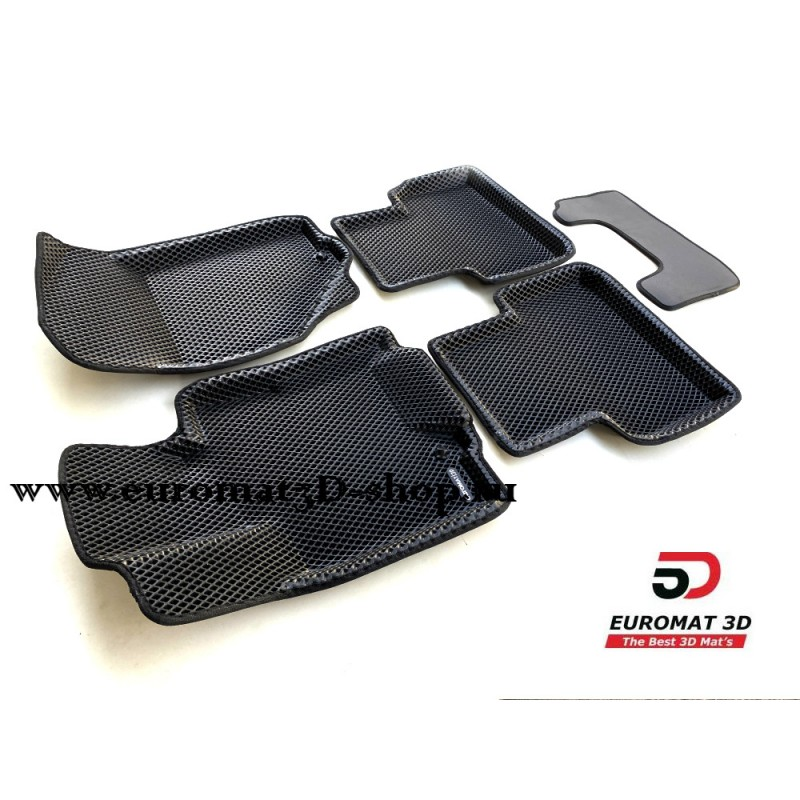 3D Коврики Euromat3D EVA В Салон Для INFINITI QX 50 (2015-2017) № EM3DEVA-002803