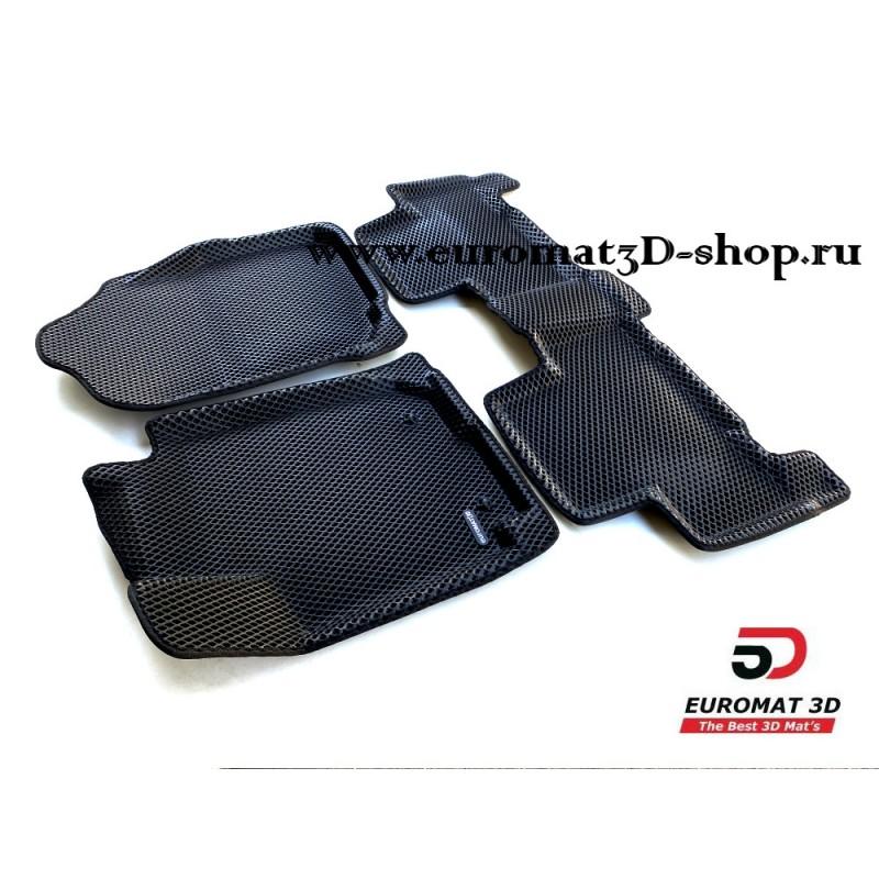 3D Коврики Euromat3D EVA В Салон Для TOYOTA Rav 4 (2006-2013) № EM3DEVA-005126