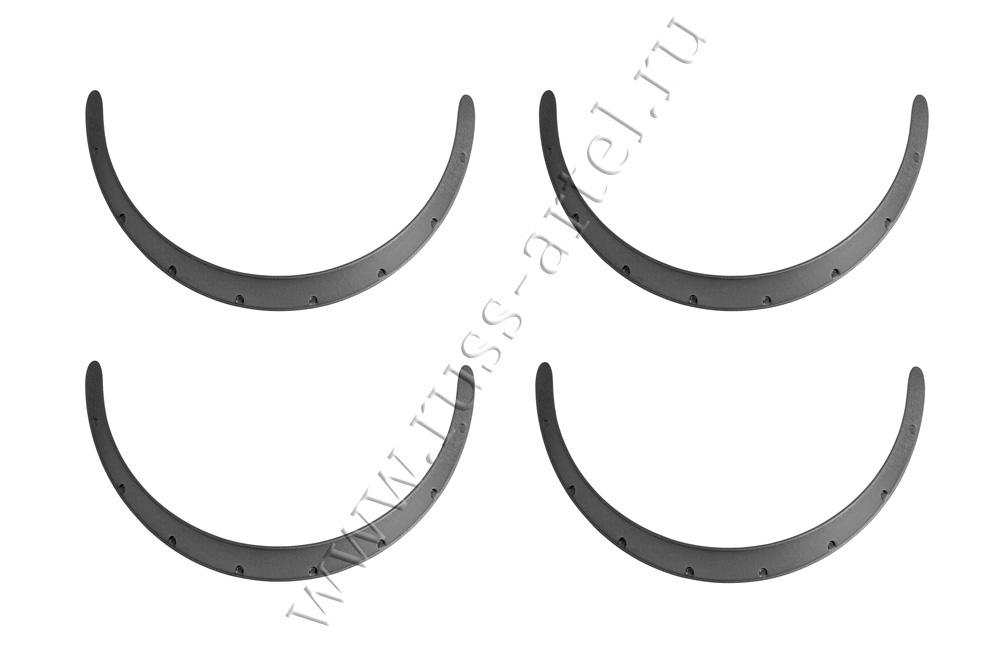 Фендера универсальные с выносом 70 мм (4 шт.) Универсальные изделия