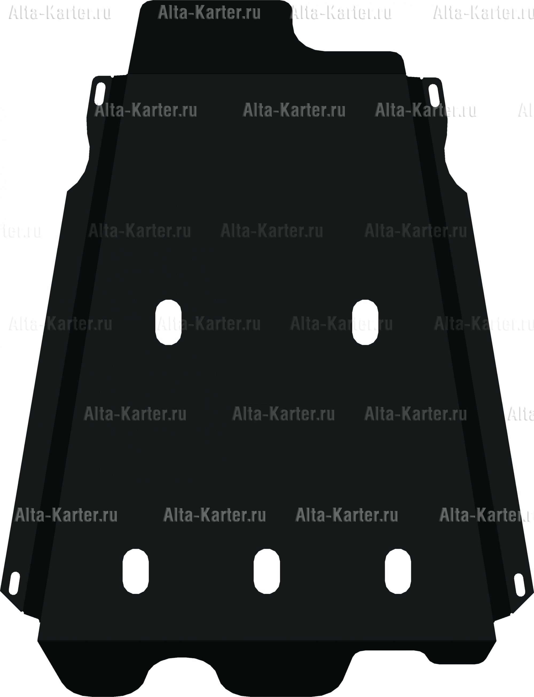 Защита Alfeco для КПП и раздатки Suzuki Jimny 2003-2019. Артикул ALF.23.07