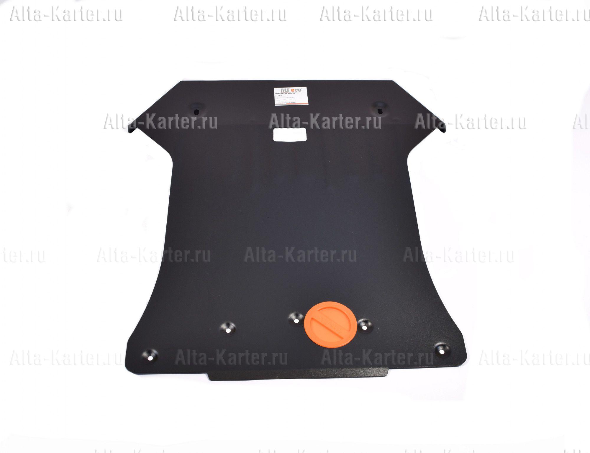 Защита Alfeco для картера и радиатора BMW Х4 F26 2014-2018. Артикул ALF.34.11