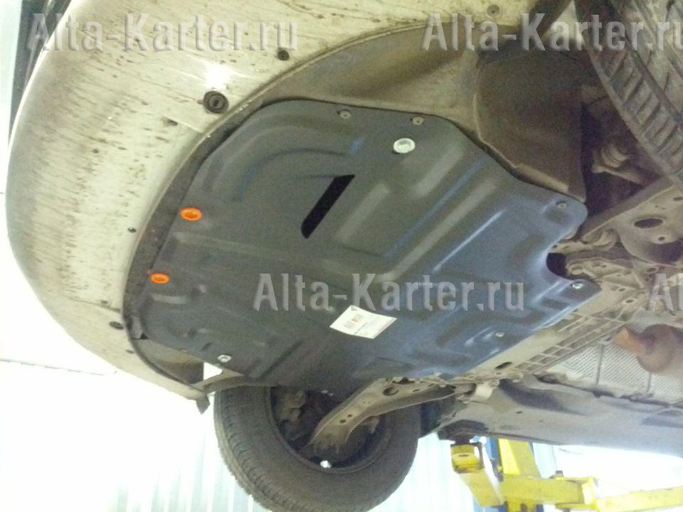 Защита Alfeco для картера и КПП Volkswagen Caddy III 2004-2015. Артикул ALF.20.12 st