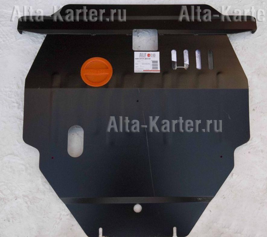 Защита Alfeco для картера и КПП Toyota Corolla Spacio E121 2001-2006. Артикул ALF.24.33