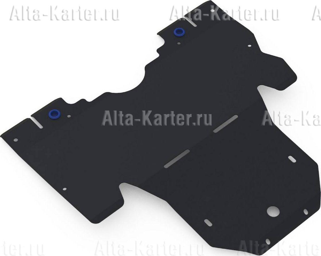 Защита Rival для картера (увеличенная) Subaru Outback IV 2010-2014. Артикул 111.5409.1