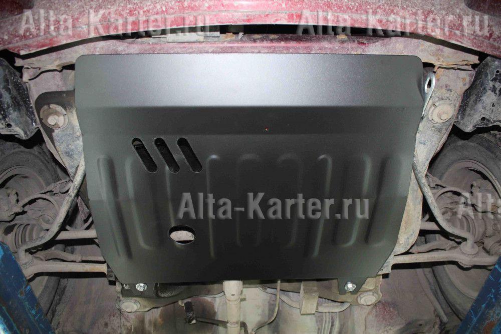 Защита Alfeco для картера и КПП Toyota Duet 1998-2005. Артикул ALF.24.106