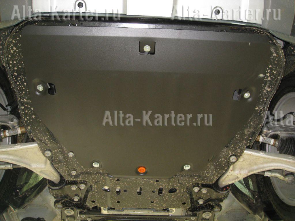 Защита Alfeco для картера и КПП  Lаnd Rover Range Rover Evoque I 2011-2018. Артикул ALF.38.04 st