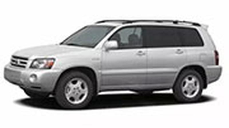 Авточехол для Toyota Highlander I (2001-2007)