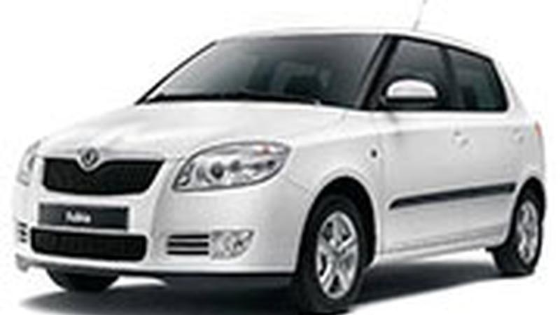 Авточехол для Skoda Fabia (2007+)