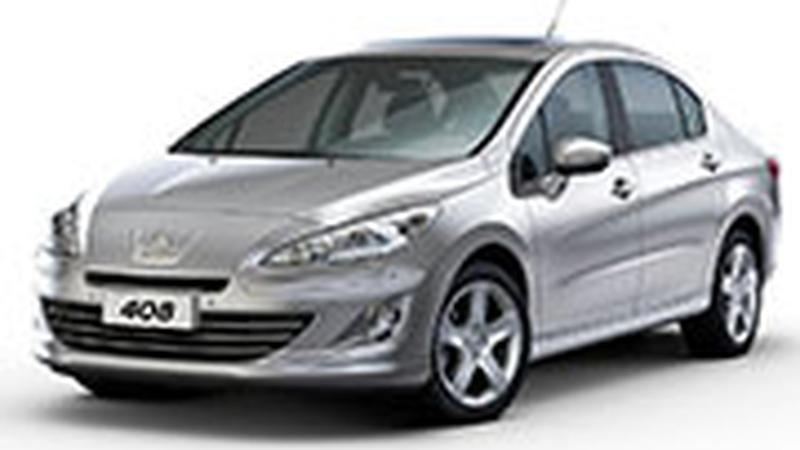 Авточехол для Peugeot 408 (2012+)